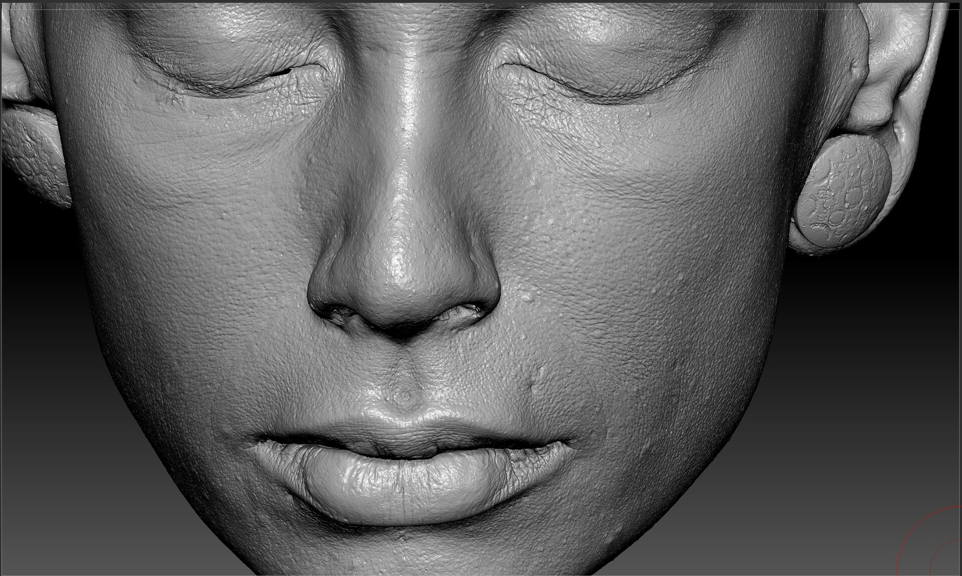 RAW Facescan Tests
