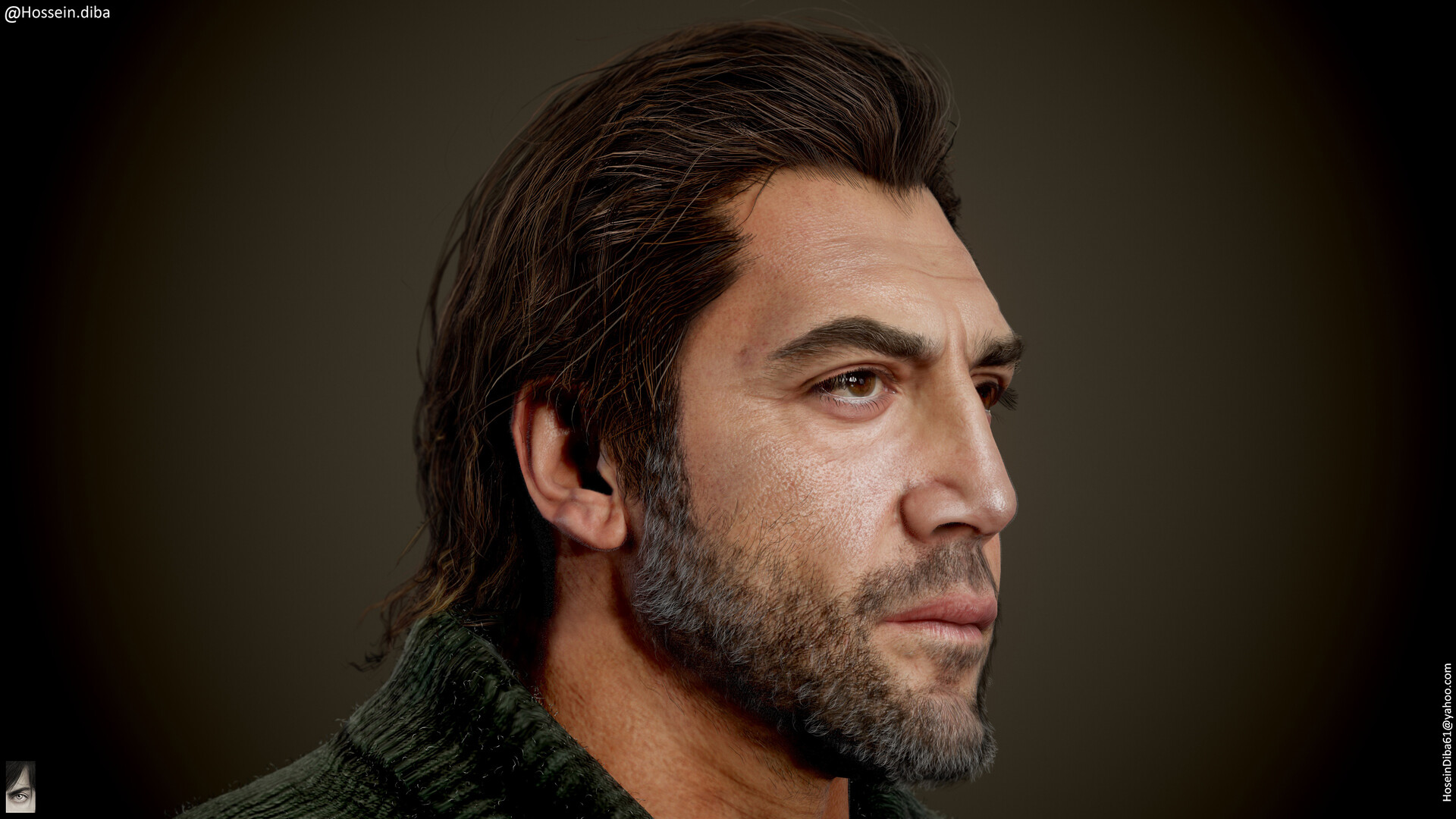 Javier Bardem (Real-time) – Reallusion
