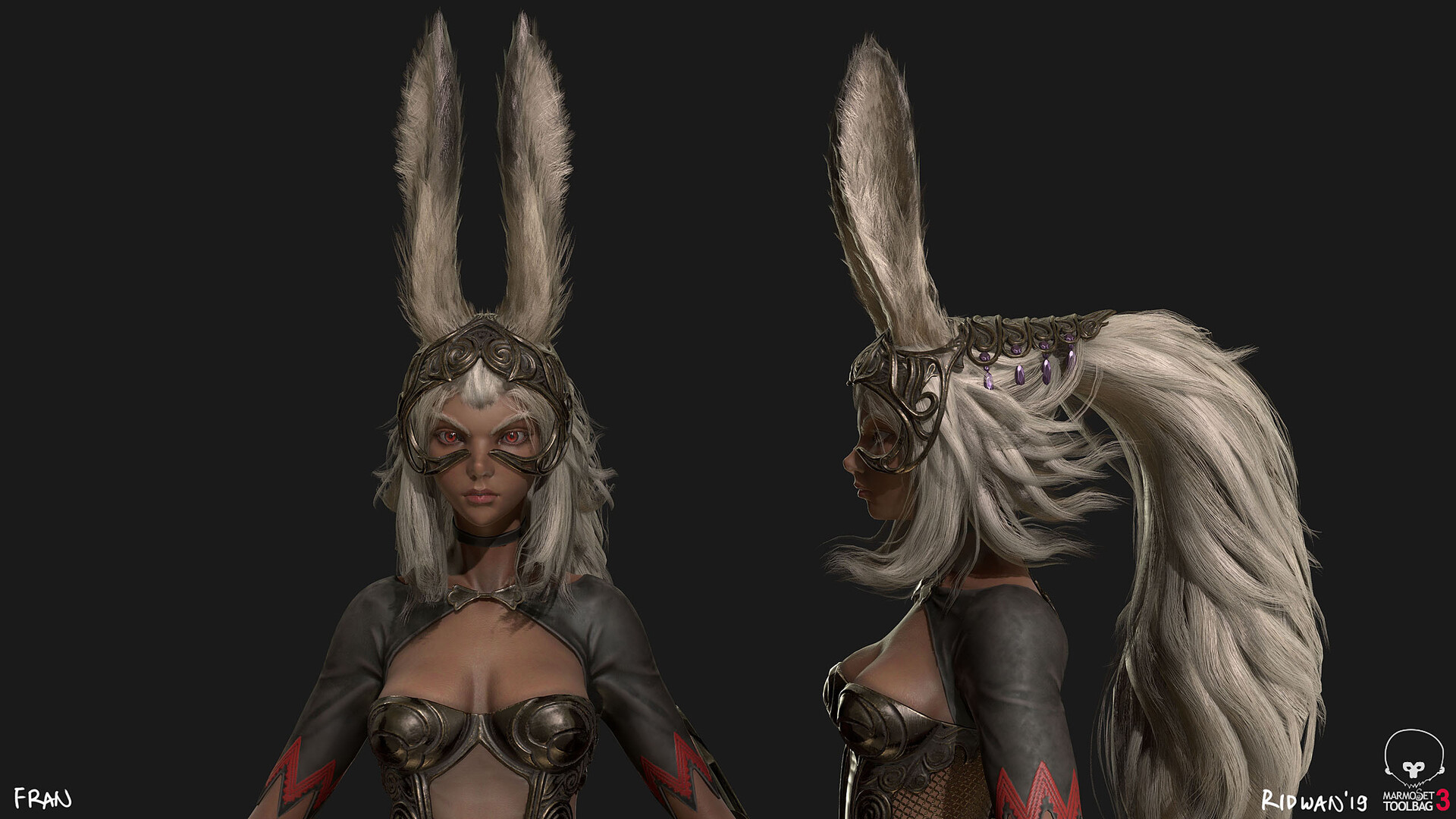 Fran – Final Fantasy XII – Retrogasm 2019
