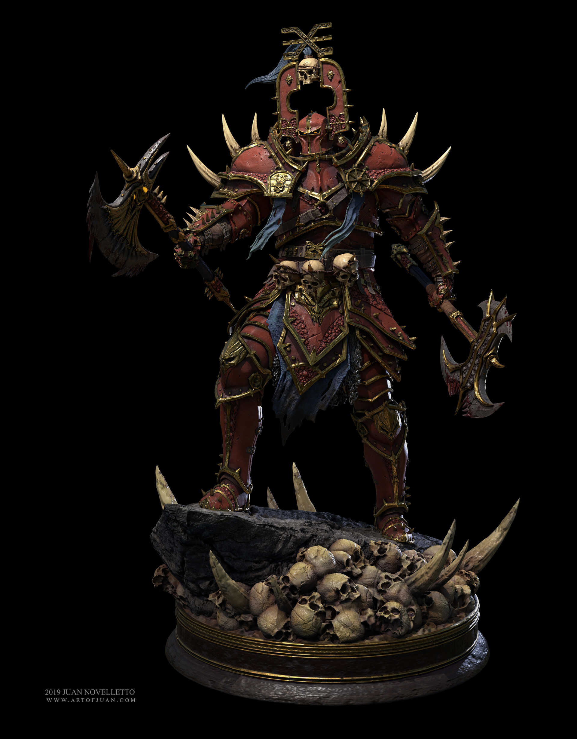 Khorne Champion of Chaos, Warhammer Fantasy
