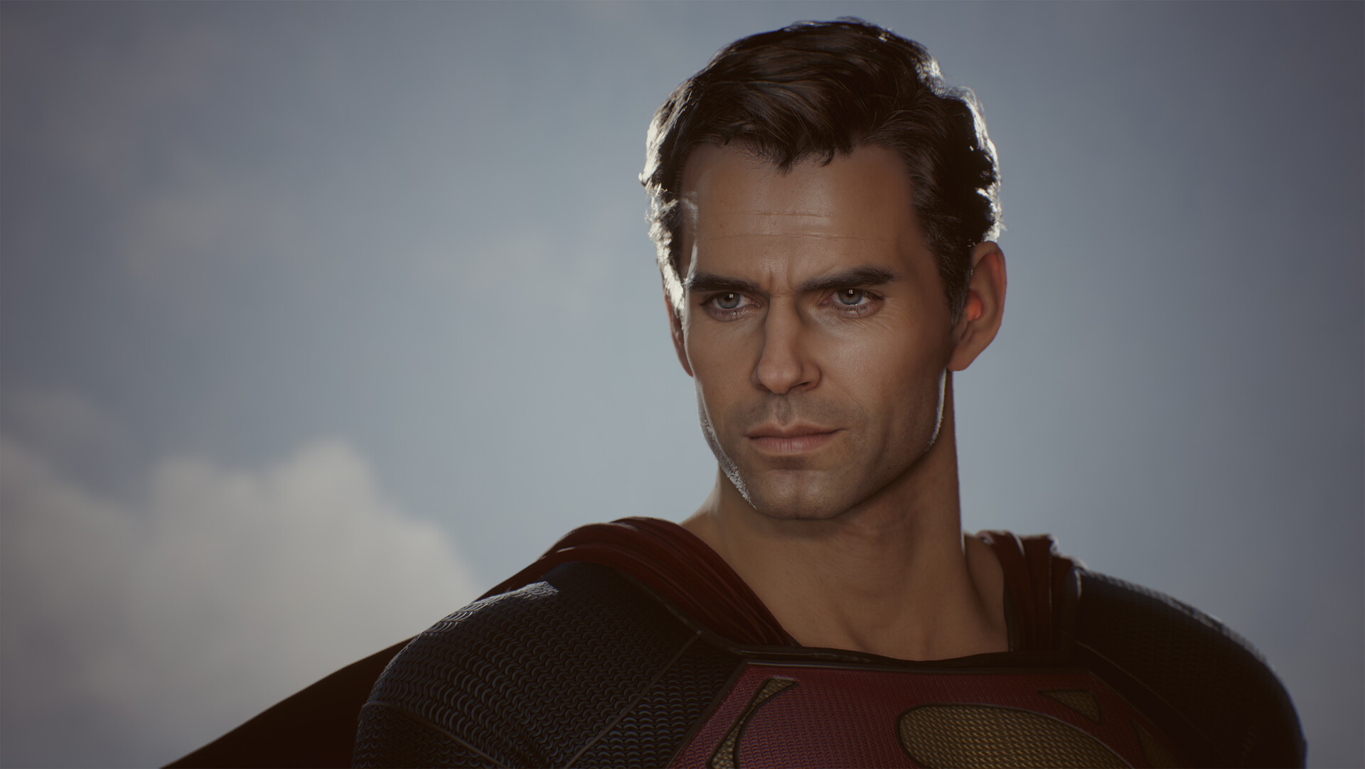 Then superman and beyond UE4 Real-time character